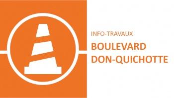 Permalien vers:Travaux sur le boulevard Don-Quichotte